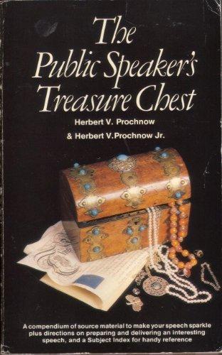 The Public Speaker's Treasure Chest: HERBERT V. PROCHNOW
