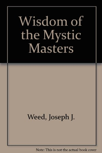 9780854540532: Wisdom of the Mystic Masters