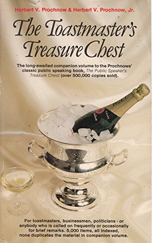 9780854540662: THE TOASTMASTER'S TREASURE CHEST.