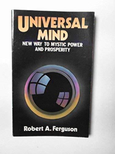 9780854540709: Universal Mind
