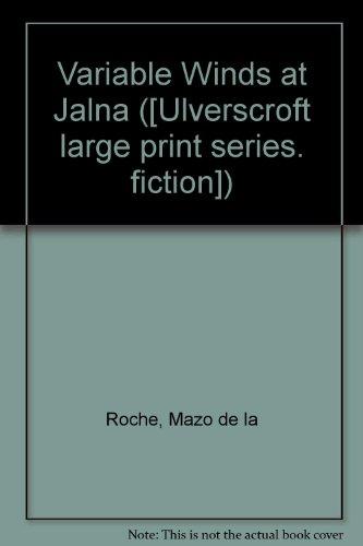 9780854566877: Variable Winds At Jalna (U)