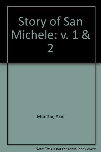 9780854568956: Story of San Michele: v. 1 & 2