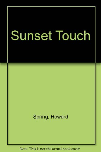 9780854569465: Sunset Touch