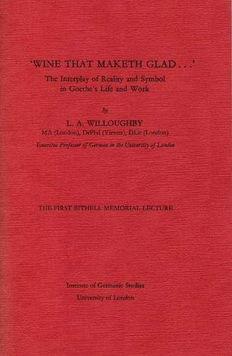 Wine That Maketh Glad.: Interplay of Reality: L. A. Willoughby