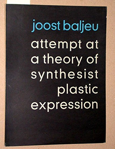 9780854588084: Attempt at Theory of Synthesist Plastic Expression
