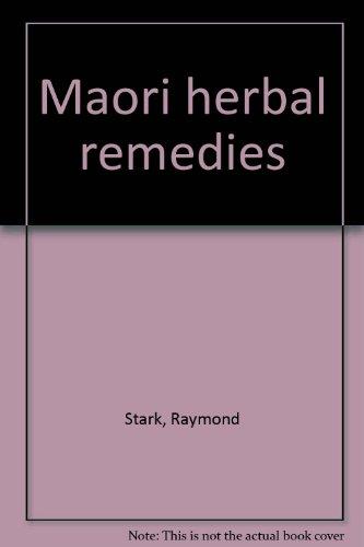 9780854670673: MAORI HERBAL REMEDIES.