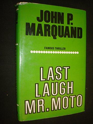 9780854681396: Last Laugh, Mr.Moto
