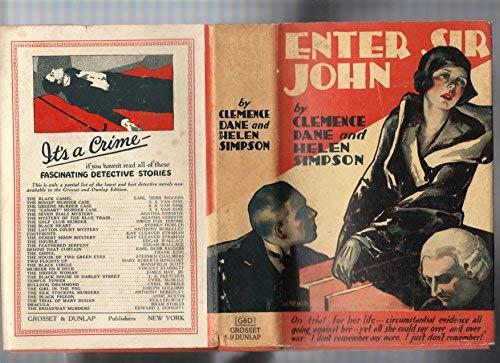 Enter Sir John: Dane, Clemence, Simpson,