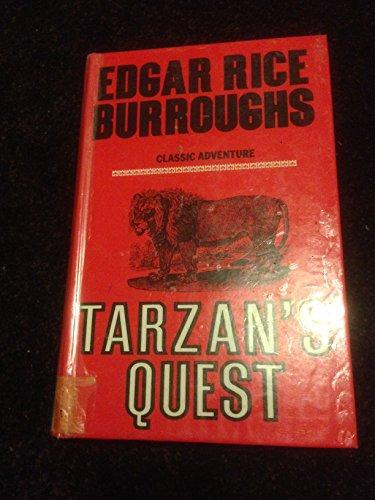 Tarzan's Quest: Burroughs, Edgar R.