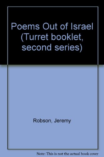 9780854690121: Poems Out of Israel (Turret booklet, second series)