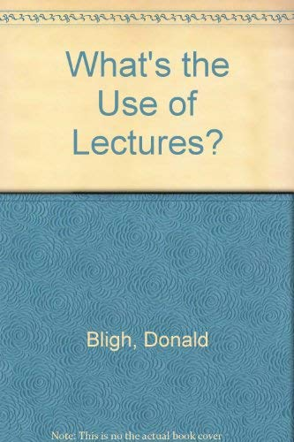 9780854730063: What's the Use of Lectures?