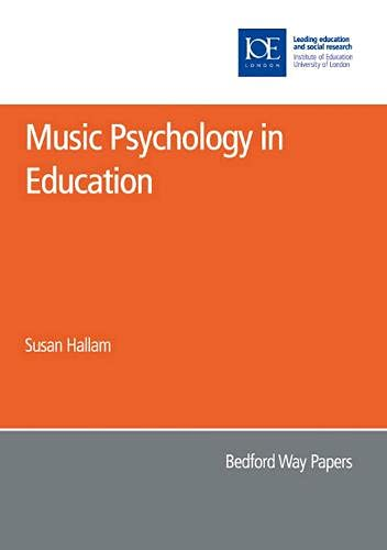 9780854737161: Music Psychology in Education