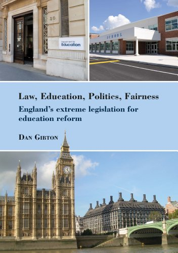 9780854739226: Law, Education, Politics, Fairness: England's Extreme Legislation for Education Reform (Bedford Way Papers)