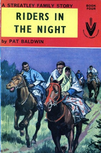 9780854760244: Riders in the Night (Streatley family story / Patricia Baldwin)