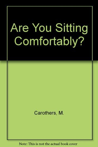 9780854763757: Are You Sitting Comfortably?