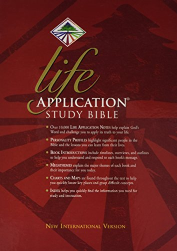 9780854769490: Niv Life Application Study Bible Black