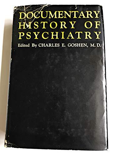 9780854780907: Documentary History of Psychiatry
