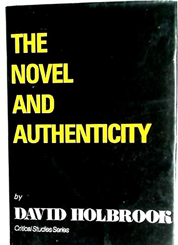 9780854781560: The Novel and Authenticity