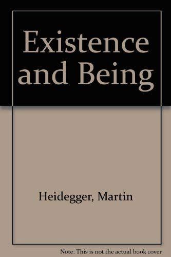 9780854782215: Existence and Being