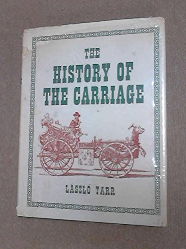 9780854782918: History of the Carriage