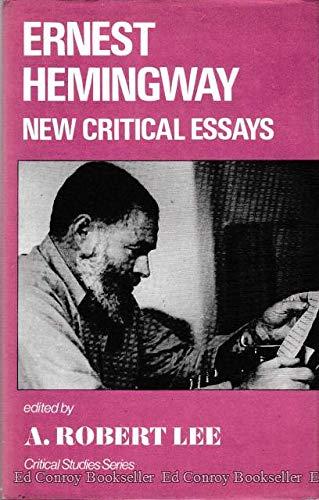 9780854784745: Ernest Hemingway: New Critical Essays (Critical Studies)