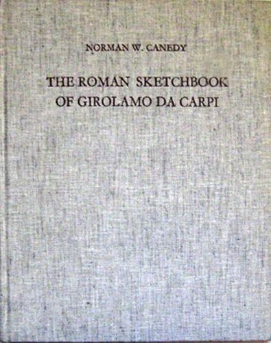 9780854810543: The Roman Sketchbook of Girolamo Da Carpi (Studies of the Warburg Institute)