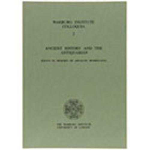 9780854810956: Ancient History and the Antiquarian: Essays in Memory of Arnaldo Momigliano (Warburg Institute Colloquia)