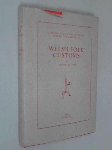 9780854850037: Welsh Folk Customs