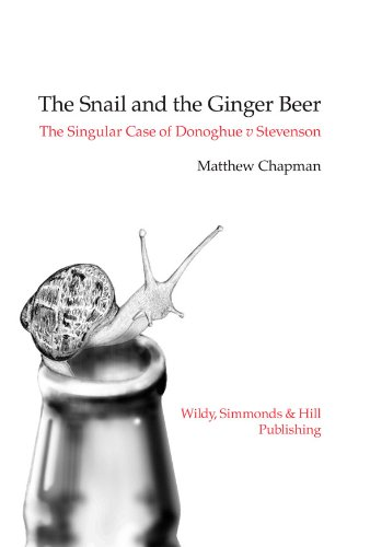 The Snail and the Ginger Beer: Chapman, Matthew
