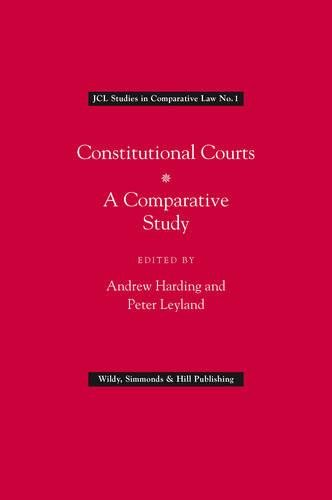 9780854900633: Constitutional Courts