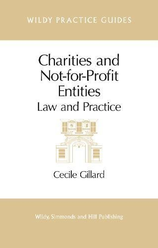Charities and Not-For-Profit Entities: Gillard, Cecile