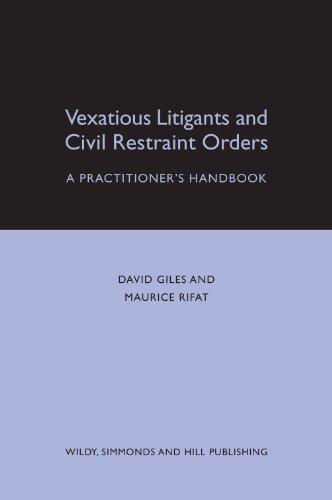 Vexatious Litigants & Civil Restraint or: Rifat, M.