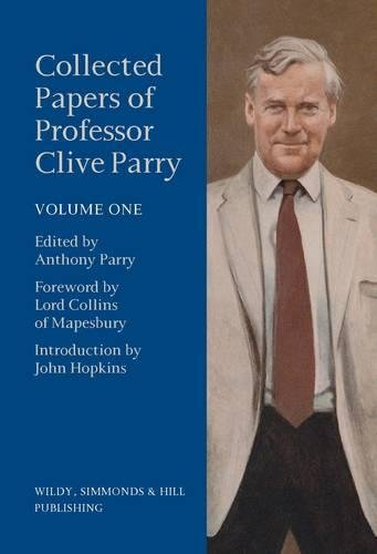 9780854901203: Collected Papers of Professor Clive Parry
