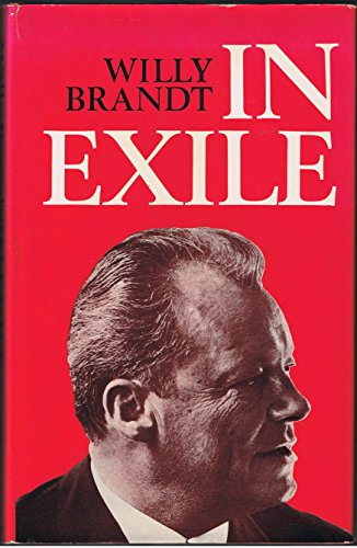 9780854961207: In Exile: Essays, Reflections and Letters, 1933-47