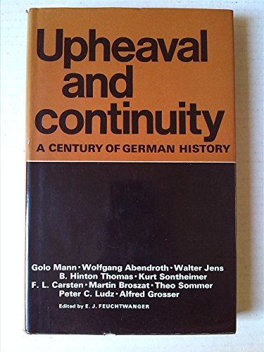 9780854961337: Upheaval and Continuity: Century of German History