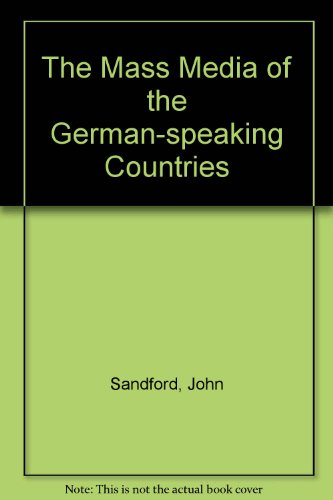 9780854962037: The Mass Media of the German-speaking Countries
