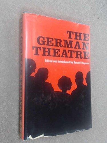 9780854963645: German Theatre
