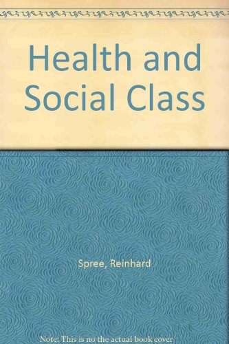 9780854965274: Health and Social Class in Imperial Germany: A Social History of Mortality, Morbidity, and Inequality