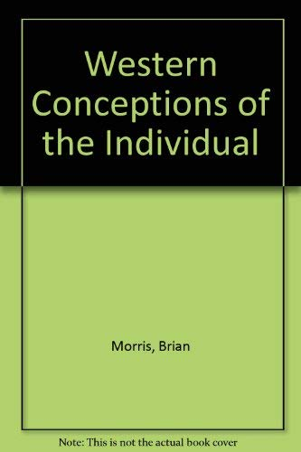 9780854966981: Western Conceptions of the Individual