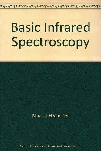 Basic Infrared Spectroscopy: Maas, J.H.Van Der