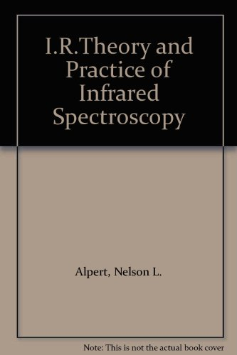9780855011260: I.R.Theory and Practice of Infrared Spectroscopy