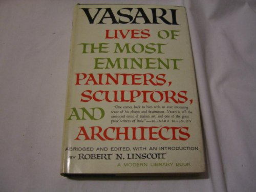 9780855031374: Lives of the Most Eminent Painters, Sculptors and Architects