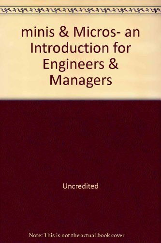 9780855100230: minis & Micros- an Introduction for Engineers & Managers