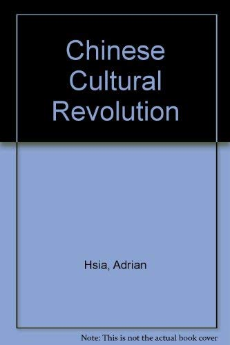 9780855140090: Chinese Cultural Revolution