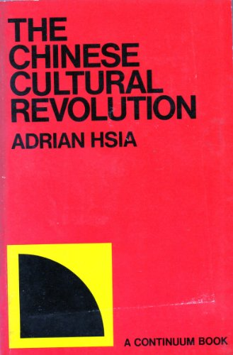 9780855140298: Chinese Cultural Revolution
