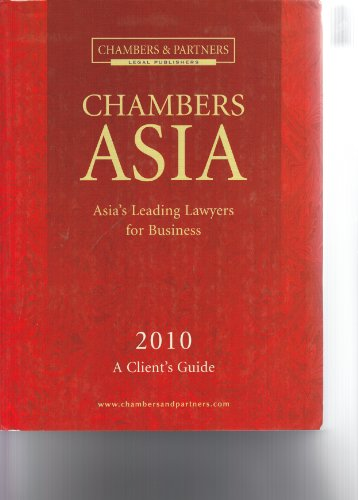 9780855145224: Chambers Asia 2010: A Client's Guide