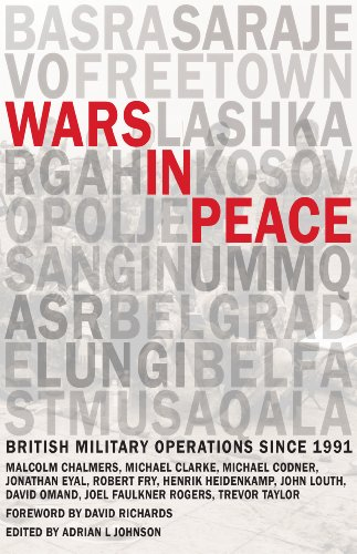 9780855161934: Wars in Peace: British Military Operations since 1991