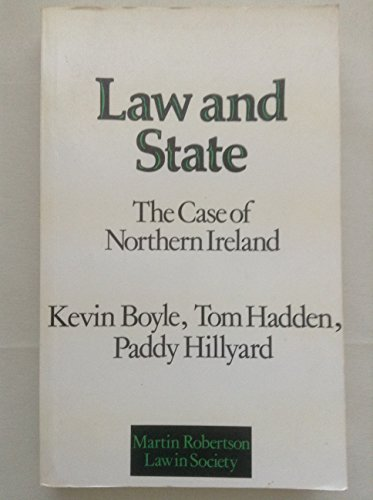 9780855201036: Law and State: Case of Northern Ireland (Law in Society)
