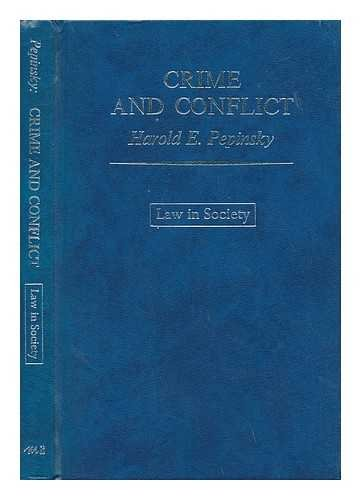 9780855201173: Crime and Conflict: Study of Law and Society (Law in Society)