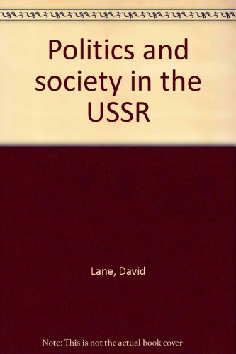 9780855202101: Politics and society in the USSR